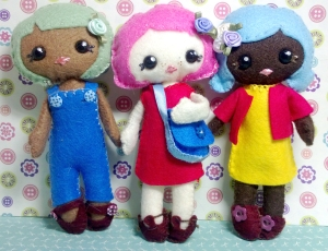 Pepperpot Dolls