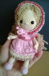 A Mini Spirit doll