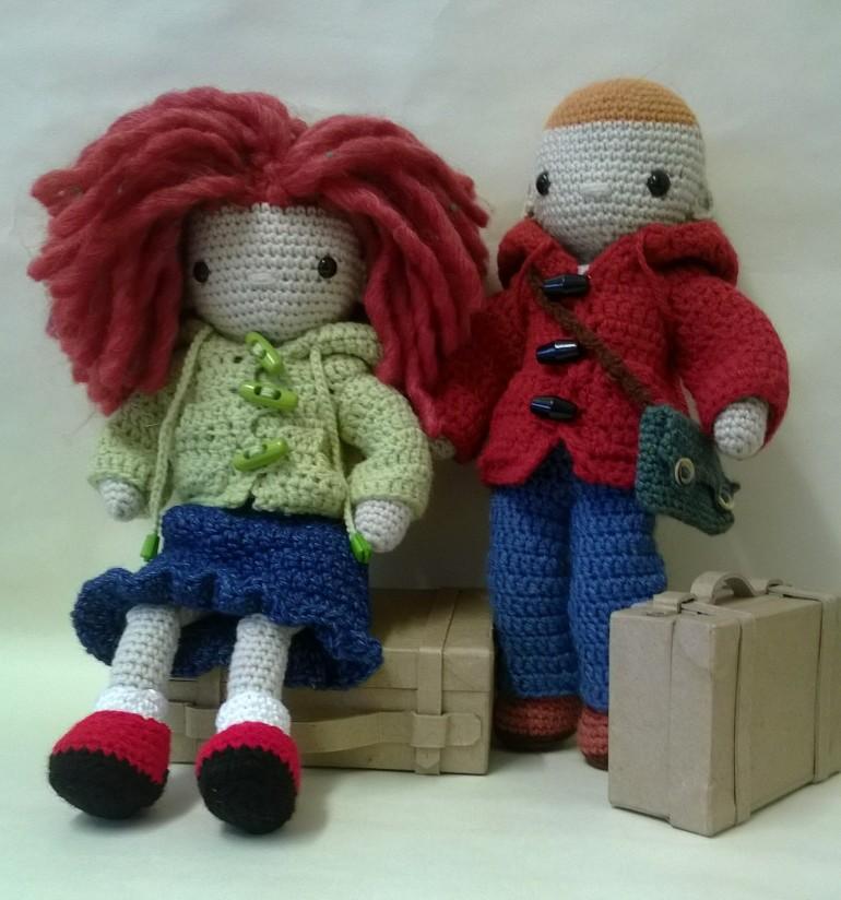 My little crochet doll original