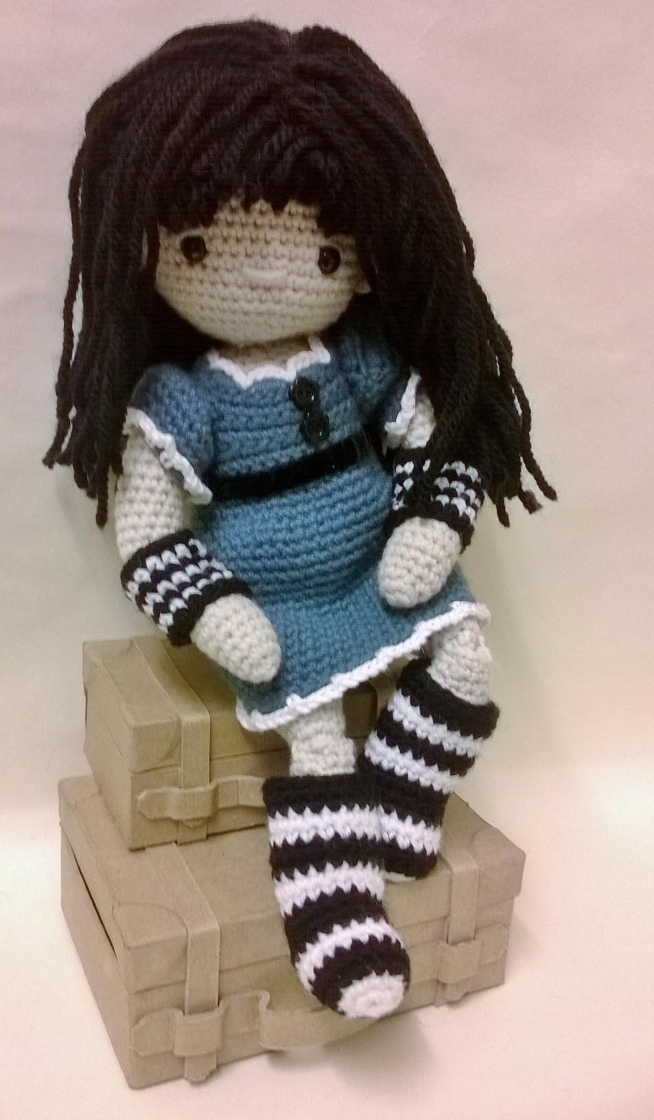 Crocheting Dolls : ... You?ll need to buy the My First Crochet Doll pattern to make her