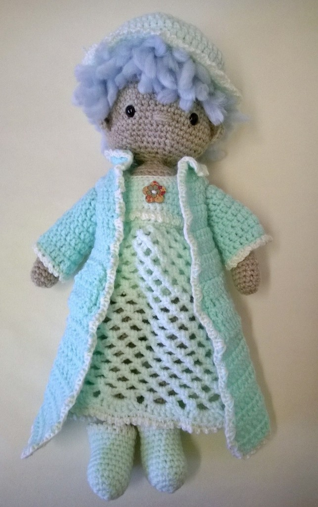 My Little Crochet Doll Bedtime