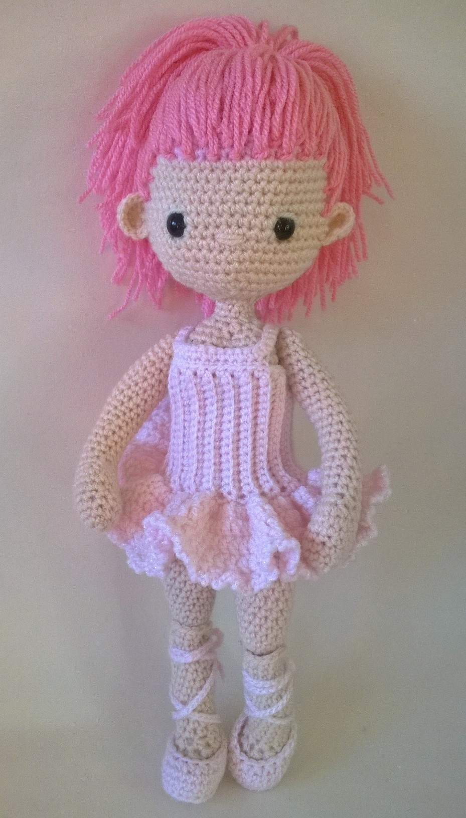 Crochet Ballerina Bear Free Pattern : My Little Crochet Doll ? Ballerina Betty Virago