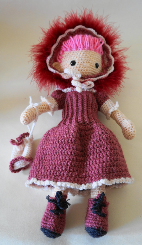 My Little Crochet Doll Sunday Best
