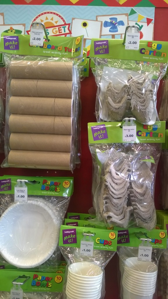 Hobbycraft - Selling you things you've just thrown out