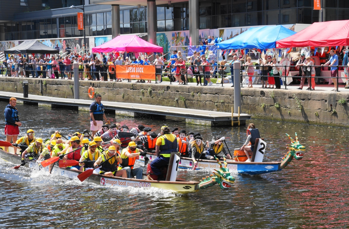 Leeds Waterfront Festival Betty Virago