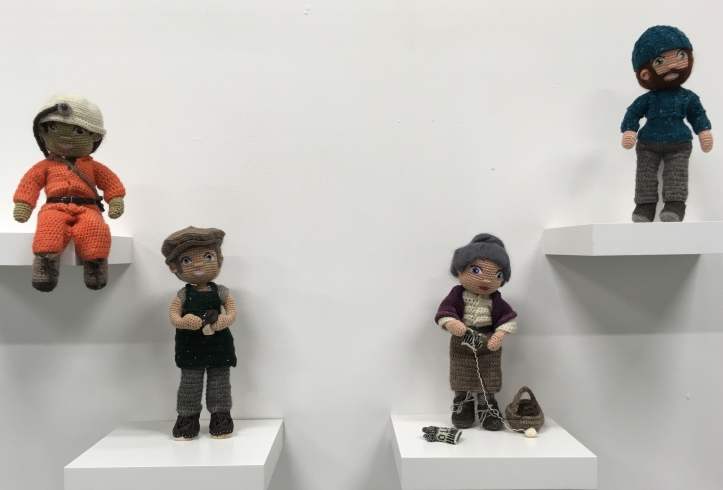 The Heritage dolls on show